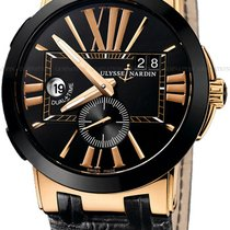 Ulysse Nardin Executive Dual Time Rose gold Black United States of America, New York, Brooklyn