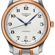 Longines Master Collection Gold/Steel 38.5mm Silver United States of America, New York, Airmont