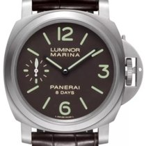 Panerai Luminor Marina 8 Days Titan 44mm Braun Arabisch