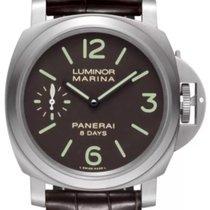 Panerai Luminor Marina 8 Days Titanium 44mm Brown Arabic numerals United Kingdom, London