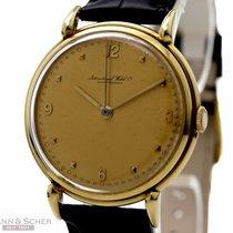 IWC Vintage Gentlemans Watch Cal-89 18k Yellow Gold Bj-1947