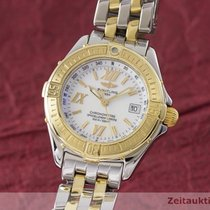 Breitling Lady B-class Chronometer Damenuhr Stahl / Gold D71365