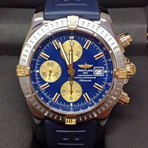 Breitling Chronomat Evolution B13356 Bi/Colour Blue Dial - B&P...