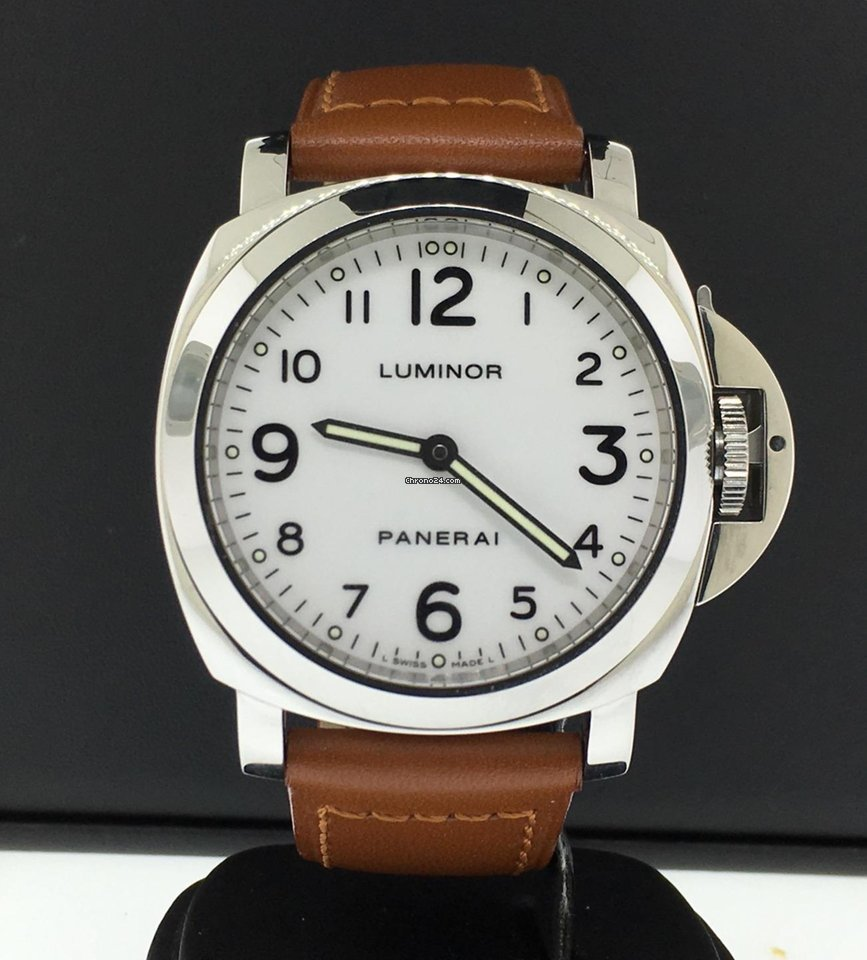 Panerai Luminor 44mm Stainless Steel PAM 114 Limited Edition... for ... 41f8bb063f86