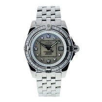 Breitling a7135653/a582 Cockpit Ladies 32mm in Steel with...