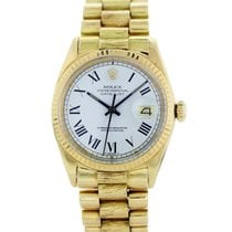 Rolex Datejust 1601 Buckley Dial 18K Yellow Gold Vintage Watch