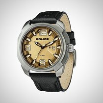 Police PL.93831AEU/61 Men's Leather Multi-Function Watch