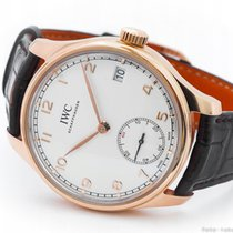 IWC PORTUGUESE 8 DAYS RESERVE 18K IW510204 / KPL.
