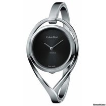 ck Calvin Klein Steel 33mm Quartz K6L2M111 new