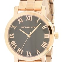 f41713b150d Michael Kors Norie Rose Gold Dial Stainless Steel Ladies Watch ...