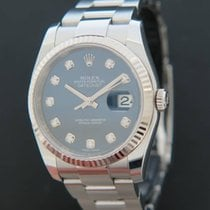 Rolex Datejust Blue Diamond Dial 116234