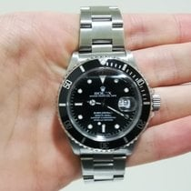 Rolex Submariner Date Stahl 40mm Schwarz Keine Ziffern Schweiz, Lugano