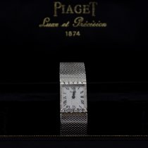 Piaget Or blanc 16mm Remontage manuel 3883 B11 occasion Belgique, Woluwe Saint Pierre
