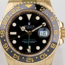 Rolex 116718LN Or jaune 2010 GMT-Master II 40mm occasion