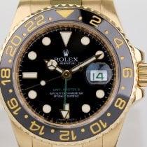 Rolex 116718LN Gulguld 2010 GMT-Master II 40mm begagnad