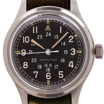 Hamilton Steel 36mm Manual winding pre-owned United States of America, California, West Hollywood