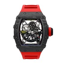 Richard Mille Koolstof 49.94mm Automatisch CA/597 tweedehands