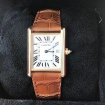Cartier Tank Louis Cartier Or jaune Argent Romain Belgique, ixelles