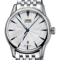 Oris Artelier Date Steel 41mm Silver