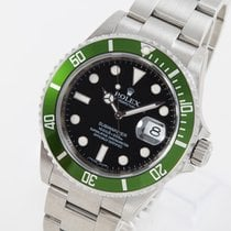 Rolex Submariner Date Zeljezo 40mm Crn