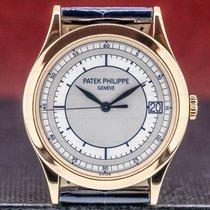 Patek Philippe Rose gold Automatic Arabic numerals 38mm pre-owned Calatrava