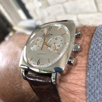 Glashütte Original Sixties Square Chronograph Steel Silver
