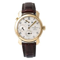 Vacheron Constantin Malte Yellow gold 41mm Silver United States of America, New York, New York