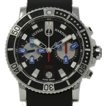 Ulysse Nardin pre-owned Automatic 42mm Black Sapphire crystal 20 ATM