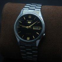 Seiko 5 Steel 35mmmm Black