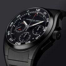 Porsche Design Dashboard Titanium 44mm Black Arabic numerals