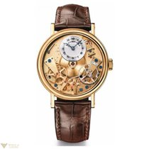 Breguet Tradition Power Reserve 18K Yellow Gold Leather Men`s...