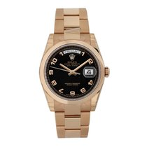Rolex Rose gold 36mm Automatic 118205 new