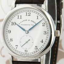 A. Lange & Söhne 35.9mm Manual winding pre-owned 1815 Silver