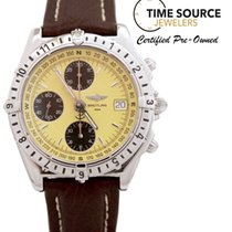 Breitling Chronomat Chrono GMT Longitude SS 39mm A20048 Watch