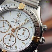 Breitling Callisto 36mm White Indexes Bracelet Manual Lemania...