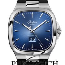 Glashütte Original Seventies Panoramadatum 40mm Blue Dial T