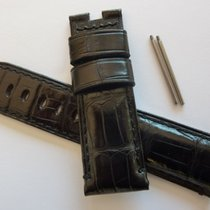 Panerai Genuine   24mm Black Alligator BAND STRAP for Deployme...
