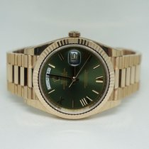 Rolex Day-Date 40 Green Dial