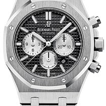 Audemars Piguet Royal Oak Chronograph Steel 41mm Black United States of America, New York, Airmont