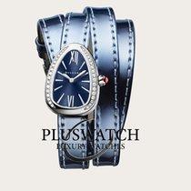 Bulgari Serpenti Steel 27mm Blue