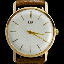 Lip 31mm Manual winding pre-owned Champagne