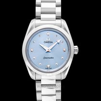 Omega Seamaster Aqua Terra Steel 28mm Blue United States of America, California, San Mateo