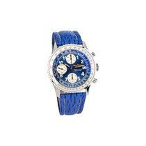 Breitling Old Navitimer Breitling Chronometer Blue Dial Full...