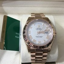 Rolex Day-Date II new 2014 Automatic Watch with original box and original papers 218235