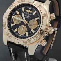 Breitling Roségold Automatik 44mm gebraucht Chronomat 44