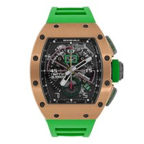 Richard Mille 42.70mm Automatik neu RM 011 Transparent