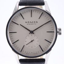NOMOS Zürich pre-owned 40mm Champagne Leather