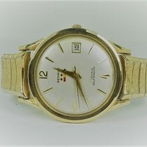 Benrus 3 Star 39 Jewel Solid 14KT Automatic Self Winding
