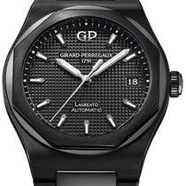 Girard Perregaux Ceramic Black 38mm new Laureato