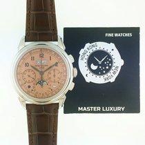 Patek Philippe 5270P-001 Platinum Perpetual Calendar Chronograph 41mm